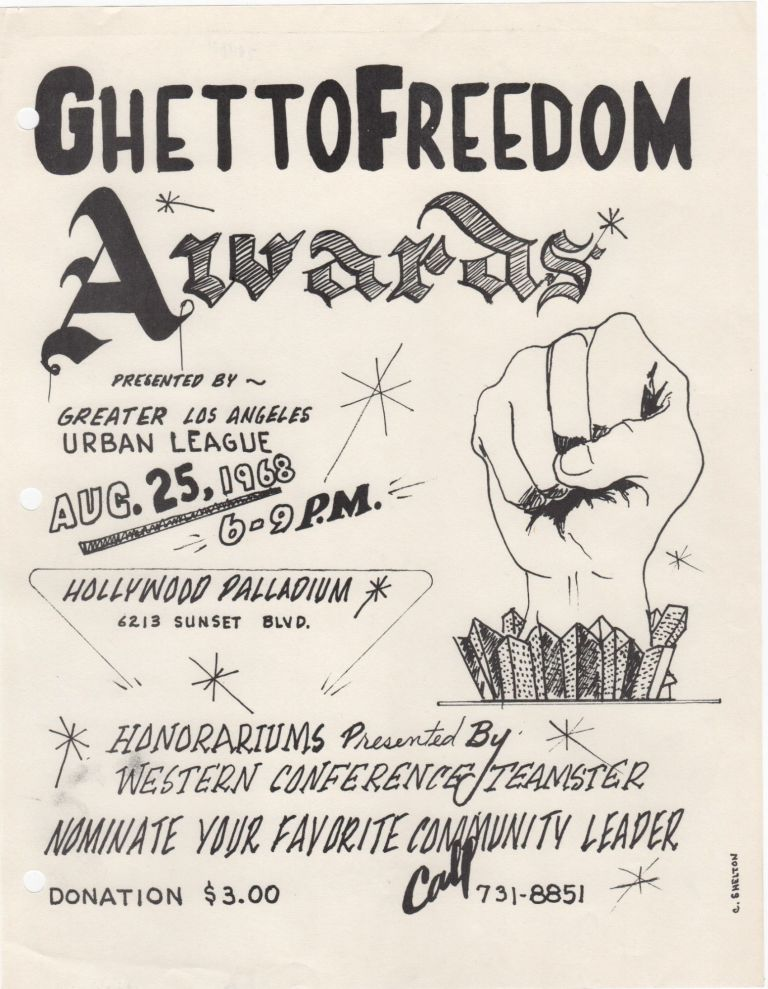 Ghetto Freedom Awards; . . Civil Rights.