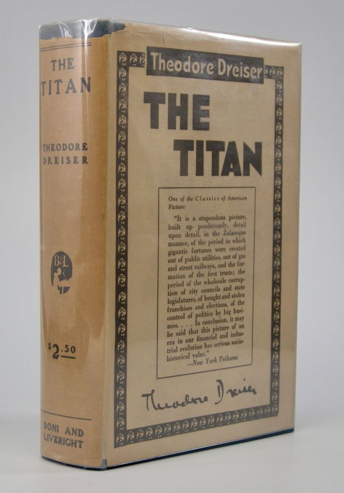 The Titan. Theodore Dreiser.