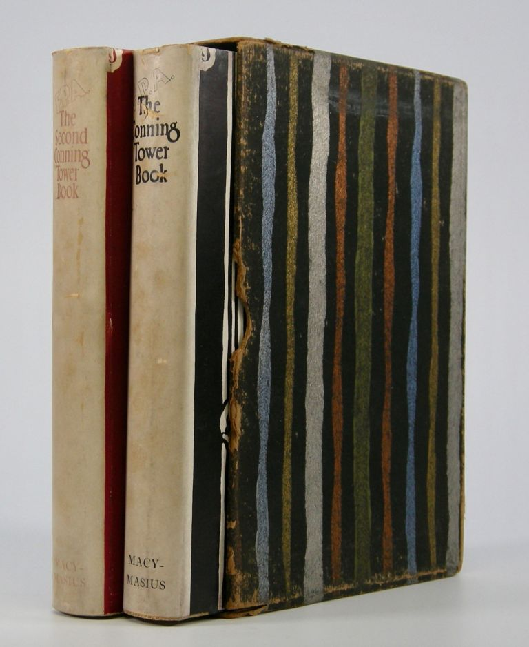 The Conning Tower Book,; with The Second Conning Tower Book. Being a Selection of the Best Verses Published in the Conning Tower, Edited by F.P.A. in the New York World. Franklin P. Adams.