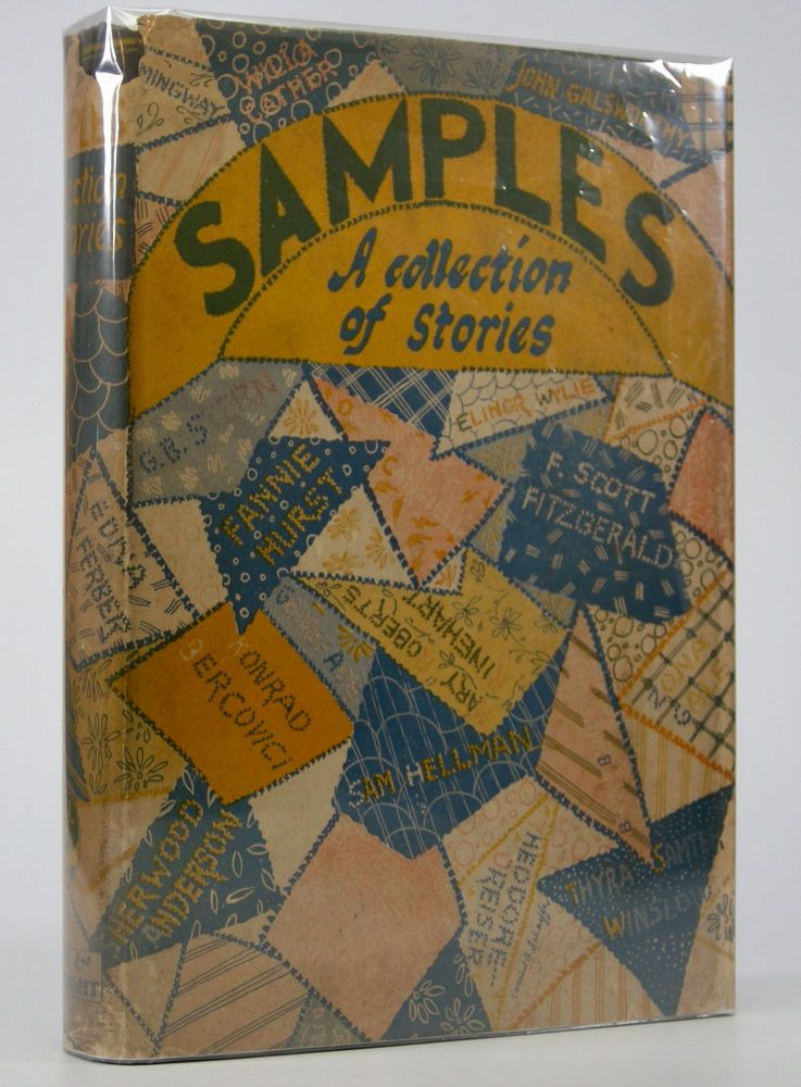 Samples:; A Collection of Short Stories . . . Compiled for The Community Workers of the New York Guild for the Jewish Blind by Lillie Ryttenberg & Beatrice Lang. F. Scott Fitzgerald.