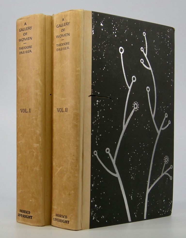 A Gallery of Women.; In Two Volumes. Theodore Dreiser.
