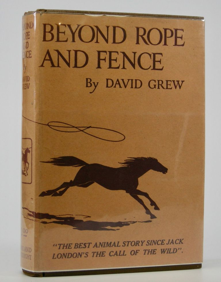 Beyond Rope and Fence. David Grew.