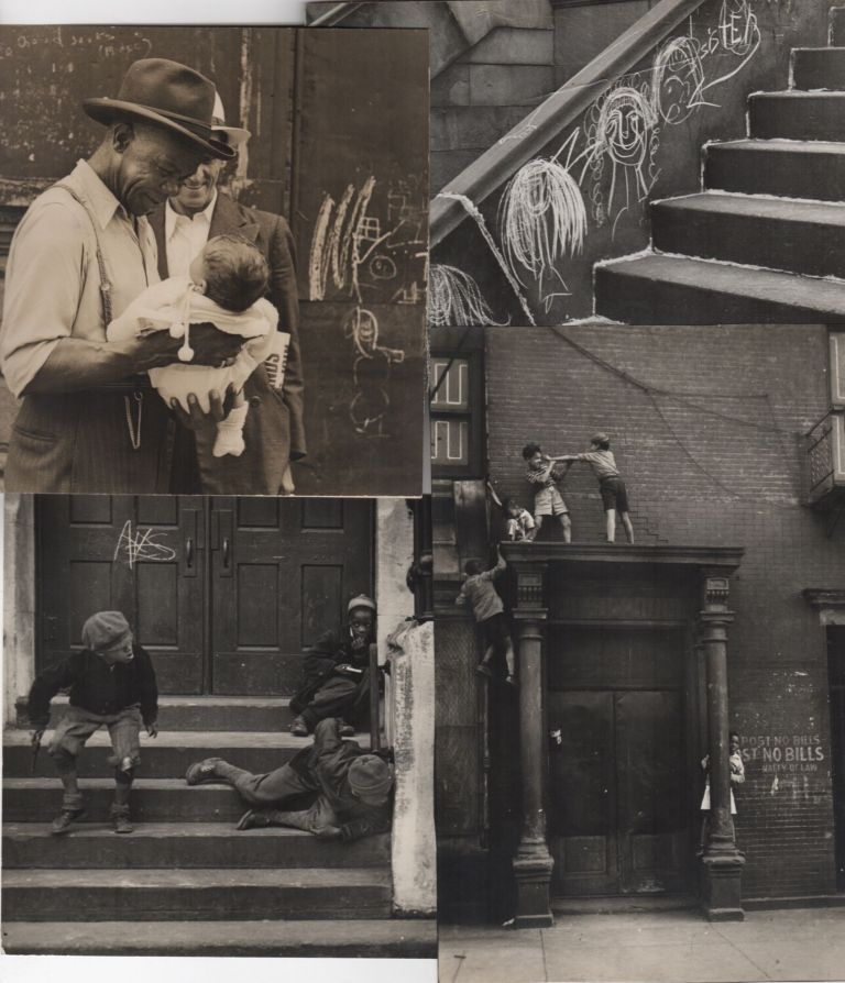 Archive of photographs and postcards. Helen Levitt.