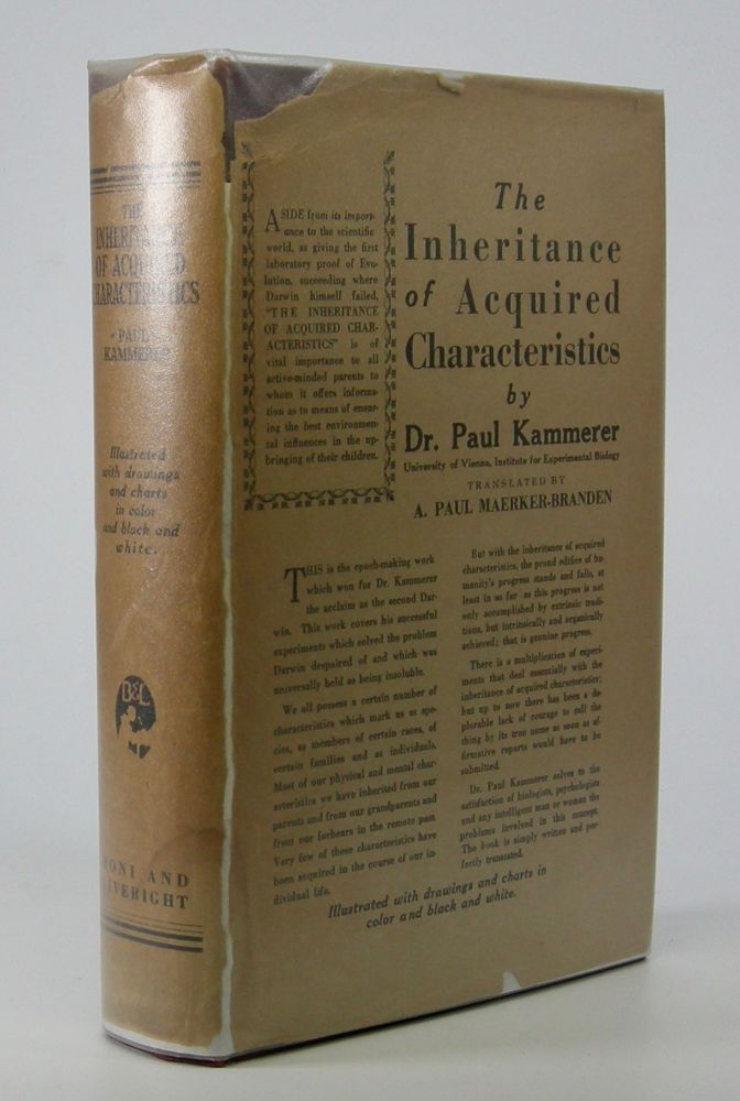 The Inheritance of Acquired Characteristics.; Translated by A. Paul Maerker-Branden. Paul Kammerer.