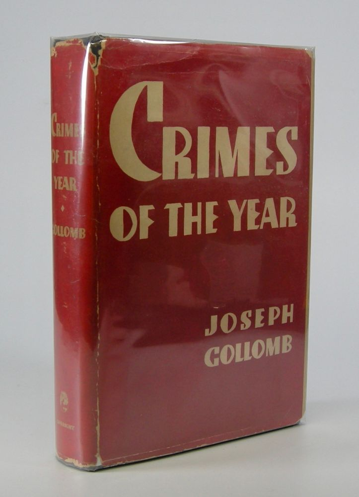Crimes of the Year. True Crime, Joseph Gollomb.