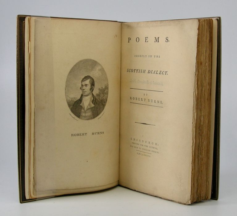 Poems,; Chiefly in the Scottish Dialect. Robert Burns.