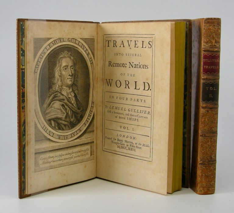 Travels into several Remote Nations of World. In Four Parts. By Lemuel Gulliver, first a Surgeon, and then a Captain of Several Ships. Jonathan Swift.