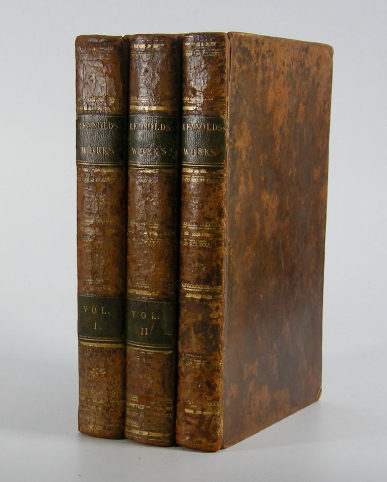 The Works . . .; Containing his Discourses, Idlers, A Journey to Flanders and Holland, and a Commentary on du Fresnoy's Art of Painting . . . to which is prefixed An Account of the Life and Writings of the Author, By Edmond Malone, Esq. Sir Joshua Reynolds.