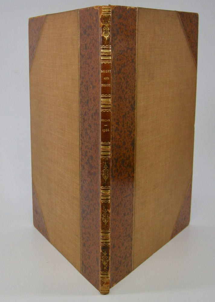 Bozzy and Piozzi,; Or, The British Biographers, A Town Eclogue. Peter Pindar, Pseud. John Wolcot.