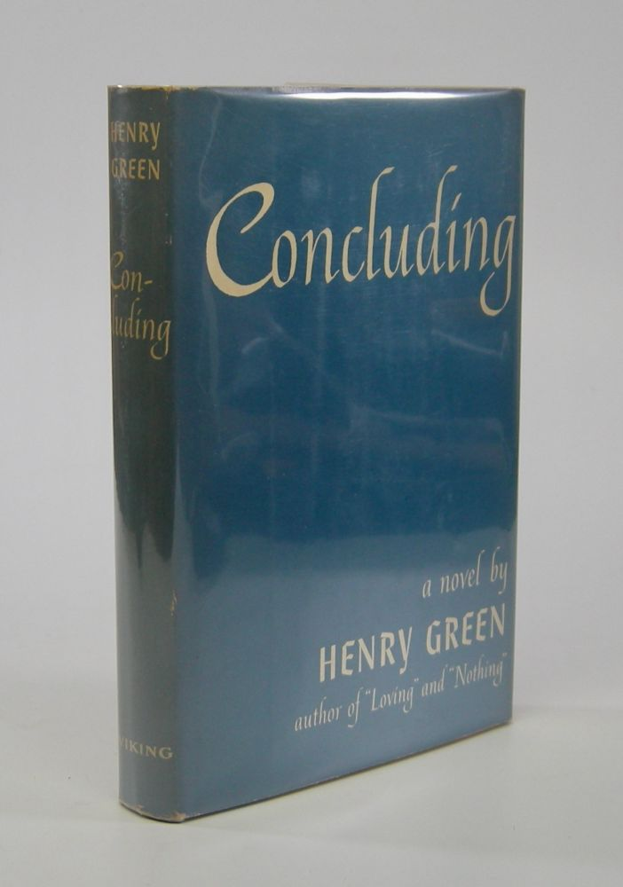 Concluding. Henry Green.