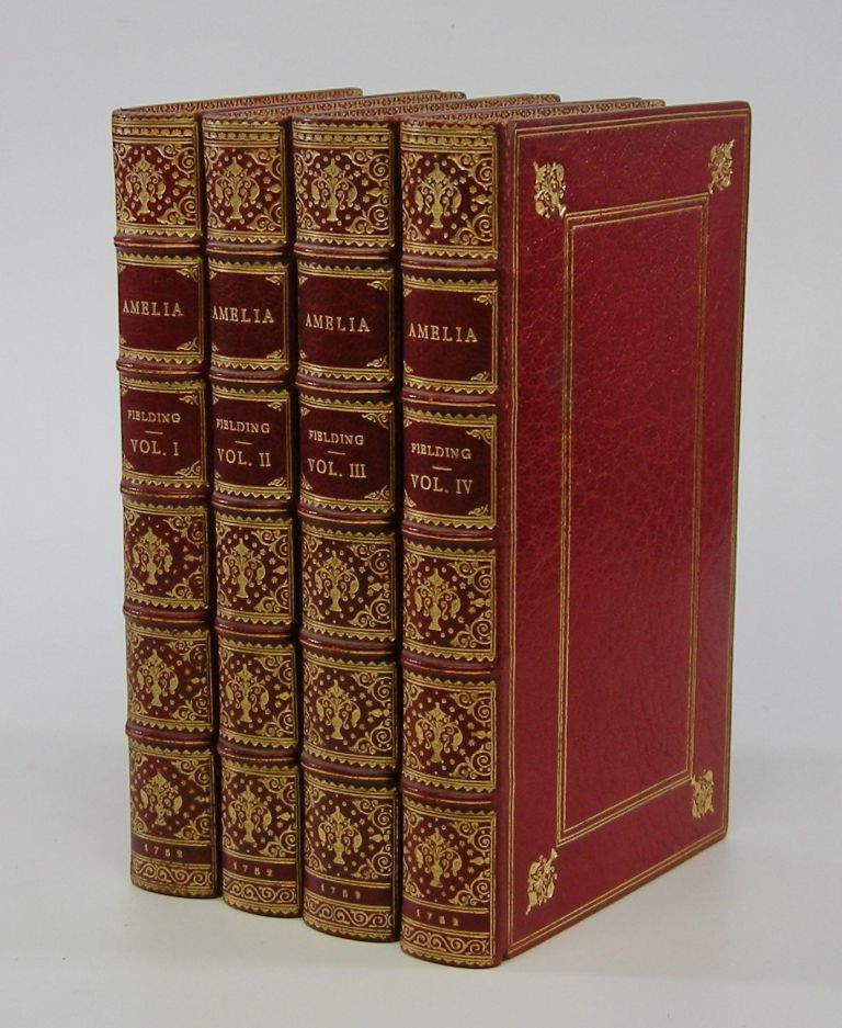 Amelia . . .; In Four Volumes. Henry Fielding.