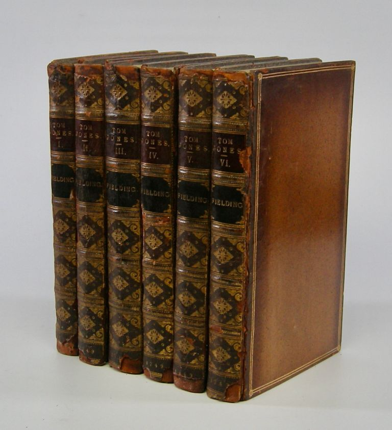 The History of Tom Jones,; A Foundling. In Six Volumes. Henry Fielding.