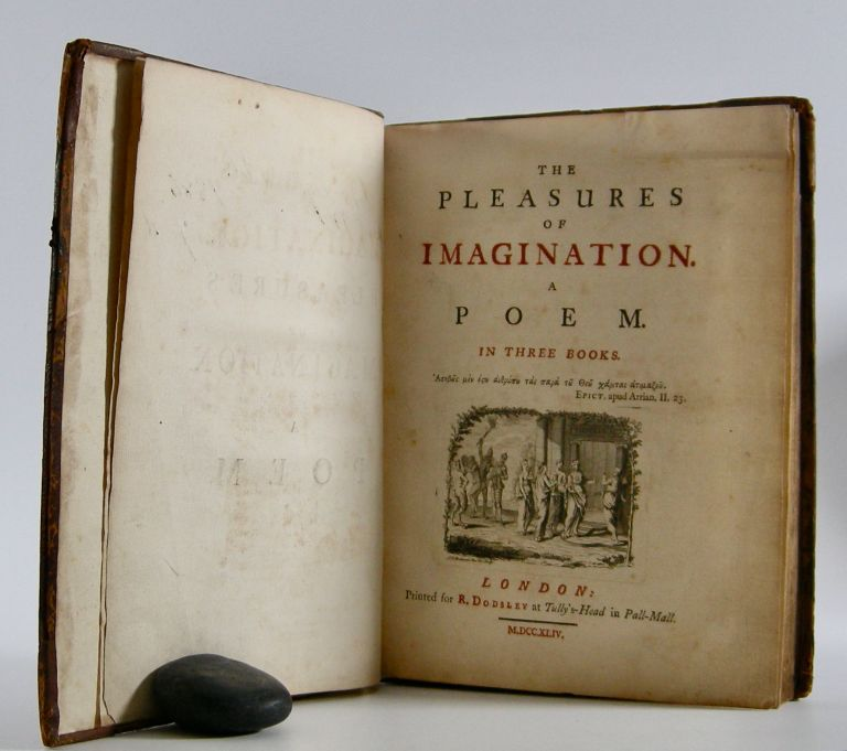 The Pleasures of Imagination; A Poem in Three Books, bound with: The Fleece: A Poem in Four Books. Mark Akenside, John Dyer.