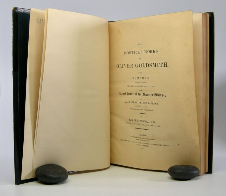 The Poetical Works; . . . with Ramrks, Attempting to Ascertain, Chiefly from Local Observation, the Actual Scene of the Deserted Village; and Illustrative Engravings by Mr. ALkin From Drawings Taken on the Spot. By Rev. R.H. Newell, B.D. Oliver Goldsmith.