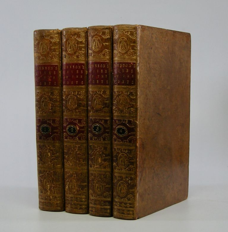 The Lives of the Most Eminent English Poets;; With Critical Observations on their Works. . . In Four Volumes. Samuel Johnson.