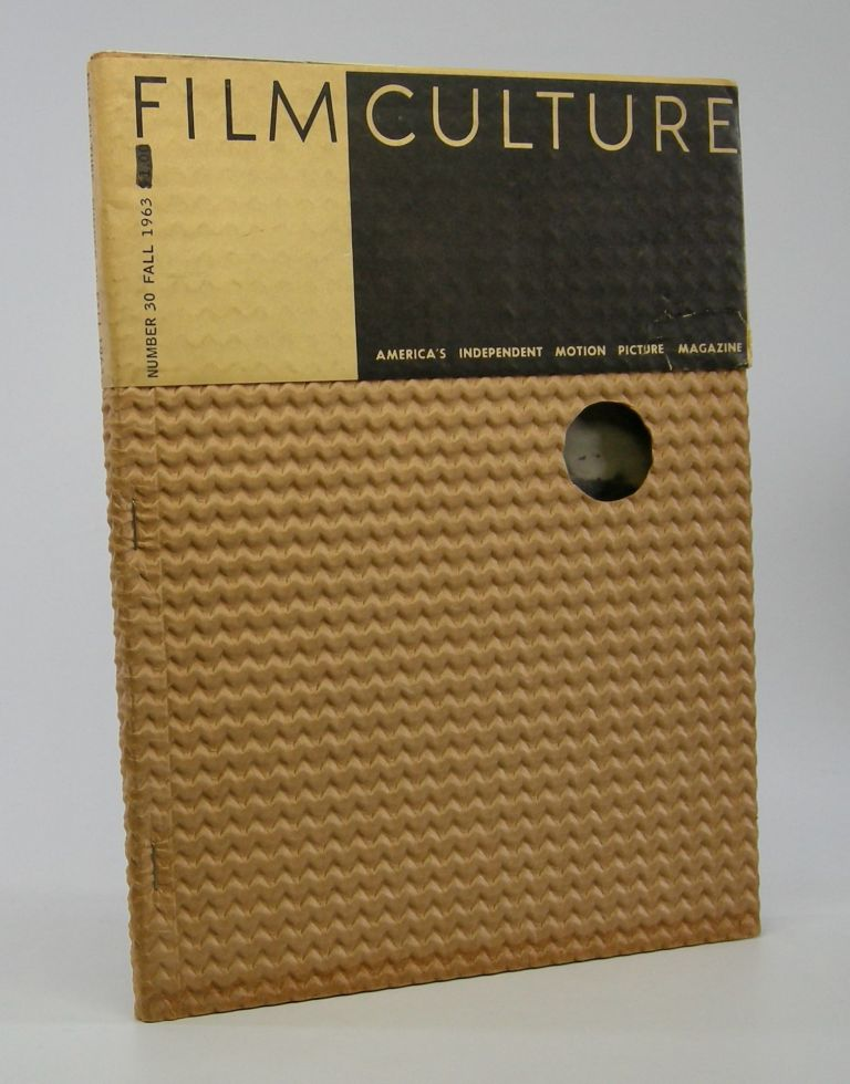 Film Culture; America's Independent Motion Picture Magazine. Number 30. Cinema Periodical.