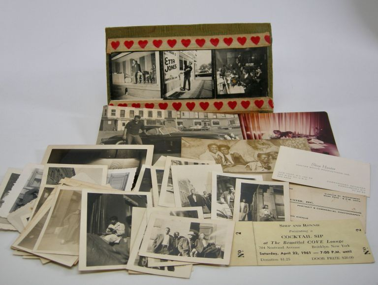 Collection of thirty photographs; Snapshots of African-American life in Bedford-Stuvesant, Brooklyn. Vernacular Photography.