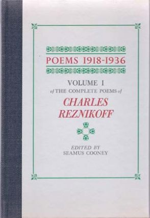 Poems 1918-1936; Poems 1937-1975; Volume I/II of The Complete Poems. . . Edited by Seamus...