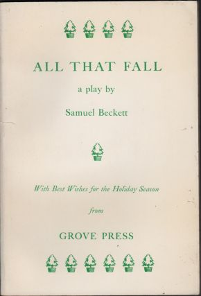 All That Fall. Samuel Beckett