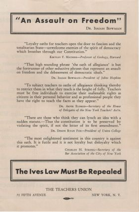 The Ives Law Must Be Repealed