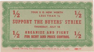 Support the Buyers' Strike