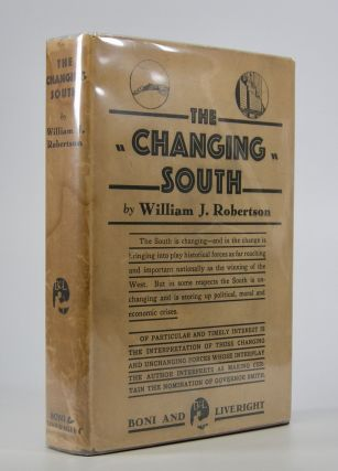 The Changing South. William J. Robertson