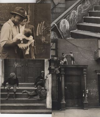 Archive of photographs and postcards. Helen Levitt