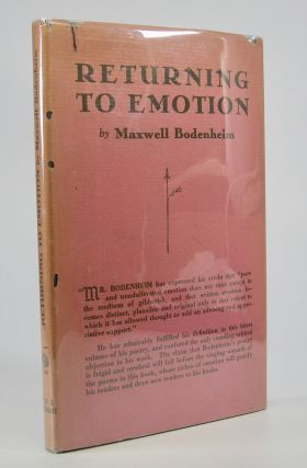 Returning to Emotion. Maxwell Bodenheim
