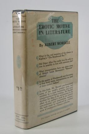 The Erotic Motive In Literature. Albert Mordell