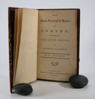 The Good Natur'd Man:; A Comedy. As Performed at the Theatre-Royal in Covent-Garden. Goldsmith,...