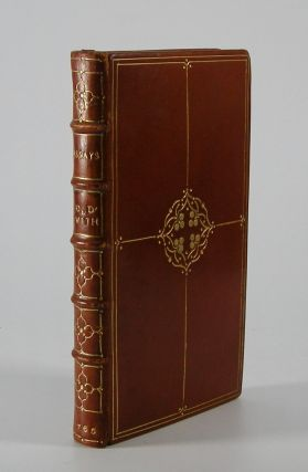Essays.; Collecta Revirescunt. Goldsmith, Oliver