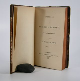 Lectures on the English Poets; Delivered at the Surrey Institution. William Hazlitt