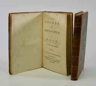 Rasselas] The Prince of Abissinia.; A Tale. In Two Volumes. . . .