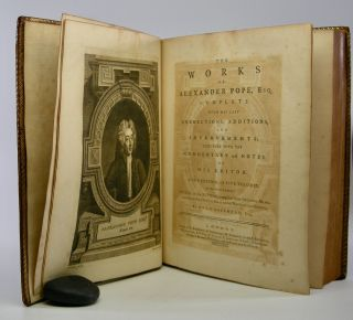 The Works; of Alexander Pope, Esq. Complete with his Last Corrections, Additions, and Improvements: Together with the Commentary and Notes of his Editor. A New Edition, in Five Volumes. To Which is Annexed the Life of the Author, Compiled from Original Manuscripts, with a Critical Essay on his Writings and Genius. By Owen Ruffhead, Esq.