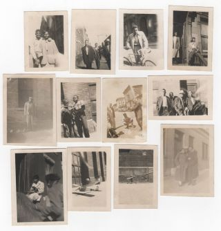 Collection of thirty photographs; Snapshots of African-American life in Bedford-Stuvesant, Brooklyn